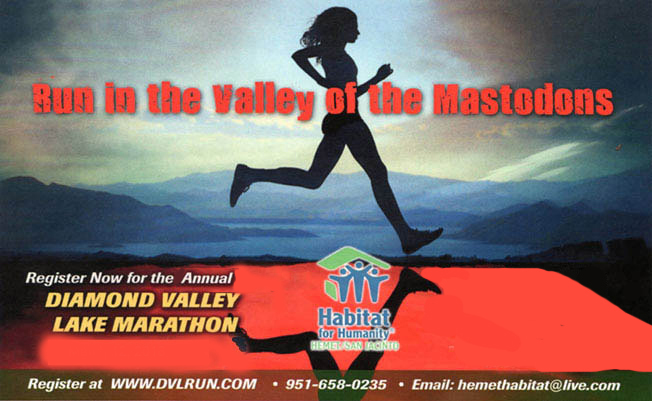 Diamond Valley Lake Marathon